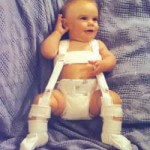 Baby with Pavilk Harness